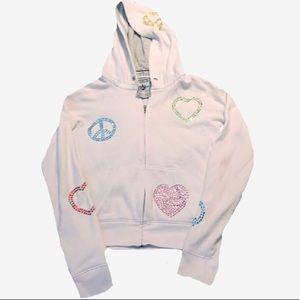 Victoria Secret PINK Gemstone hoodie bling hoodie